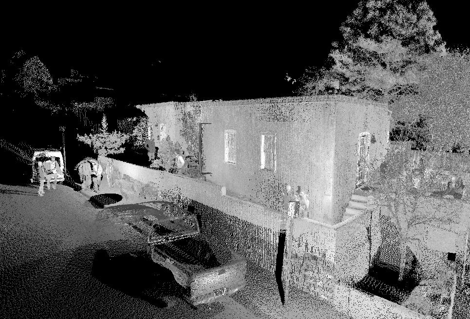 drone laster scan for architecture, construction and preservation by southwest scanning in New Mexico.