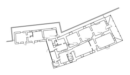 floor plan created with laser scanning by southwest scanning for architecture and construction in New Mexico